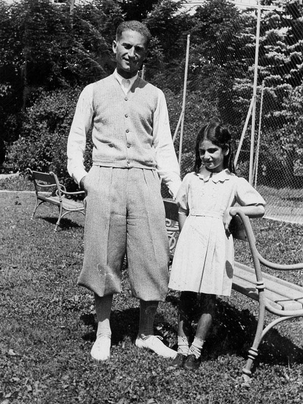Liliana Segre con il papà Alberto