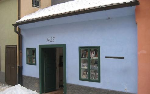 Vicolo d'oro casa Kafka