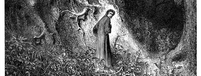 Gustave Doré illustrazione Canto I Inferno