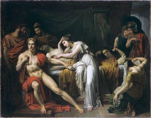 Achille dipinto Briséis