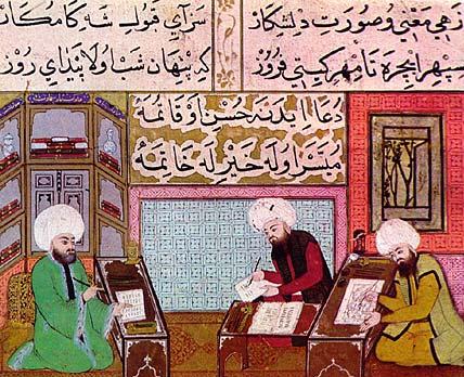 miniatura pittori ottomani