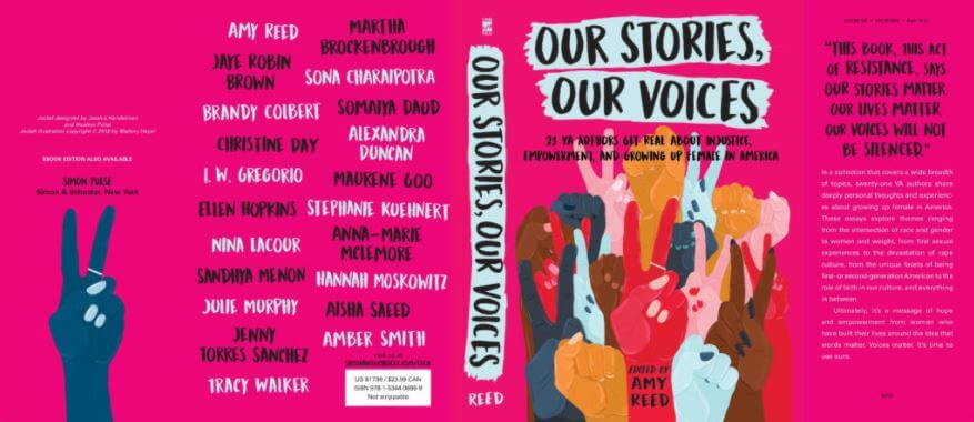 our stories our voices amy reed
