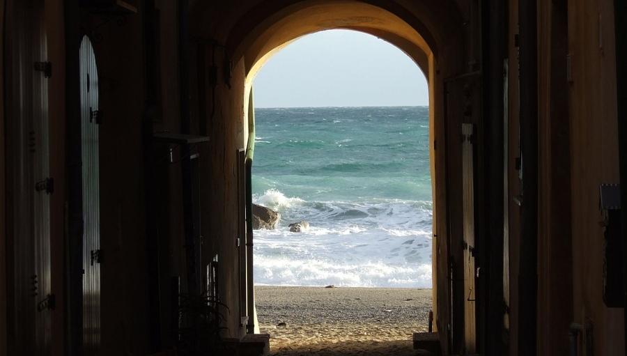 La spiaggia Cesare Pavese foto di Stefano Mazzone